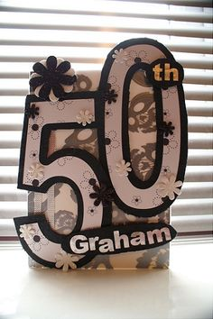 50th Birthday card for Uncle Graham