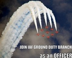 Interested in joining Indian Air Force? Check out more details about Ground Duty Branch. Find how you may become an Officer in this Branch.