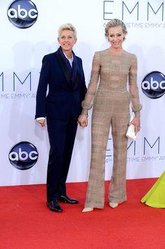 Ellen DeGeneres Portia de Rossi Photos: 64th Annual Primetime Emmy Awards - Arrivals