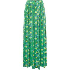 Dickins & Jones Floral print maxi skirt