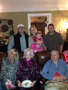The family - Christmas 2012