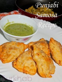samosa Punjabi Samosa Recipe | Samosa With Green Chutney