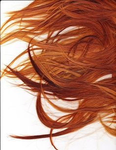 She never saw what she got from her mother other than hair the color of fire