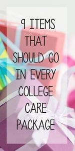 I can tell you from experience, the BEST thing about going away to college is receiving fun care packages from friends and family. Not all care packages, though, are created equal. Wow your care package...