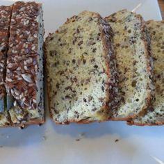 Easiest Banting Seed Bread Ever. Banting Recipes, Loaf Recipes, Low Carb Recipes, Banting Bread, Banting Diet, Seed Bread, Vegan Bread, Low Carb Bread, Healthy Treats