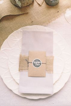 Tea bags favours £1.10, image © Daffodil Waves Photography