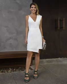15 Super Sexy Business-Outfits Für Mädchen - Style X Elegant Dresses, Beautiful Dresses, Nice Dresses, Short Dresses, Prom Dresses, Formal Dresses, Little White Dresses, White Outfits, Dress Skirt