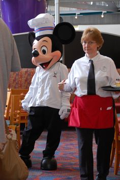Chef Mickey's is a character meal available at breakfast and dinner in Disney's Contemporary Resort, near the Magic Kingdom in Disney World.