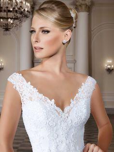 Vestidos de noiva - Coleção Callas (11) Detalhe frente