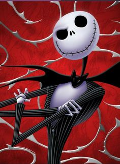 My favorite skellington in the world from one of my favorite movies EVER