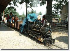 Mini Railroad Park, Medford, Oregon