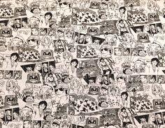 Toller Jersey von Poppy aus Holland mit Manga Comic Szenen auf grau meliertem Untergrund..  Öko-Tex Standard 100 für Bekleidung, Bettwäsche uvm...  Breite: 1,50m  Ab 0,5 Meter Größere Mengen werden natürlich in einem Stück verschickt..  Bei Mehrkäufen werden die günstigsten Versandkosten bestimmt.  Für Deutschland: Das maximale Porto beträgt 4,90€.  Für das Ausland: Die Versandkosten betragen bis 500g: 3,90€ und von 501g bis 1000g: 7,90€, sofern die Artikel als Maxi-Briefsendung verschickt…