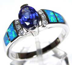 1000 Images About Opal Rings On Pinterest Fire Opals