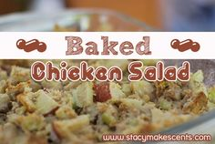 Welcome to our 1st official Trim Healthy Tuesday! Woot, woot! This week I'm sharing a chicken salad recipe. When I was younger, I was stupid and didn't like chicken salad. Silly how dumb you are about food when you're little – makes me want to go back and smack myself. Look how many years I …