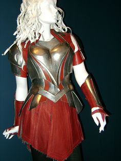"""From """"Thor: The Dark World"""" (2013) worn by Jaimie Alexander as Sif design by Wendy Partridge"""