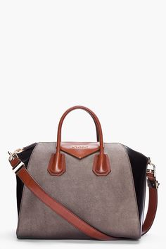 GIVENCHY Medium Antigona Sharkskin Effect Bag