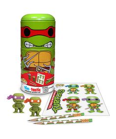 Take a look at this Raphael Tin-Tastic Art Set by Teenage Mutant Ninja Turtles on #zulily today!
