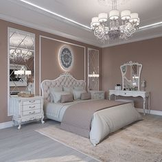 Breathtaking 84 Cozy And Easy Classic Bedroom Decor Ideas That You Can Try ASAP classic home decor Classic Bedroom Decor, Classic Home Decor, Home Decor Bedroom, Bedroom Ideas, Diy Bedroom, Classic Bed Room, Dream Bedroom, Modern Classic Bedroom, Bedroom Mirrors