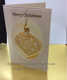 "Cheryl Algie ""Independent Stampin' Up! ® Demonstrator"" : More ornaments"
