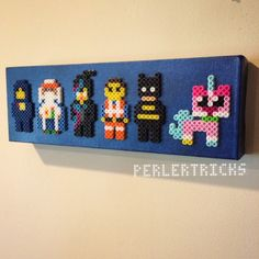 Lego Movie characters perler beads by perlertricks (by HarmonArt2