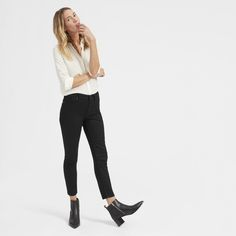 Why mess with a classic? Our cropped skinny jean is designed with an easy, natural rise and is made of premium Japanese denim with just a touch of stretch for a perfect fit.