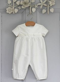 Boys 'George' Christening Romper Suit                                                                                                                                                                                 More