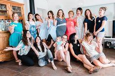 Une bande d'amies réunies pour une incroyable baby shower