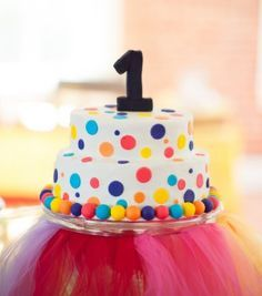 A sugar-free cake is of course not only suitable for the first birthday. 1st Birthday Cakes, Carnival Birthday Parties, Baby 1st Birthday, Birthday Ideas, Dot Cakes, Cupcake Cakes, Love Cake, Creative Cakes, Cake Smash