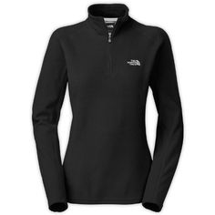 The North Face Womens Glacier 14 Zip Fleece JacketSmallTNF Black -- Check out this great product.(This is an Amazon affiliate link)