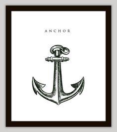 Nautical Anchor Wall Art