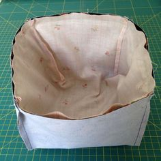Fabric Storage Baskets, Vide Poche, Drawstring Backpack, Sewing, Blog, Ideas Originales, Crafts, Easy Crafts, Tejidos