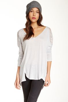 Free People | Gatsby Embroidered Tee | Nordstrom Rack