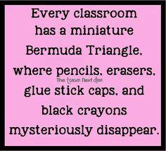 Classroom Bermuda Triangle
