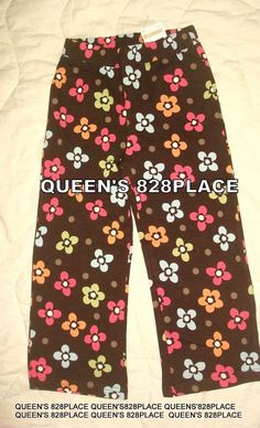 New Gymboree Black with White Kitty Cat Leggings NWT 2T 3T 4T 5T Kitty in Pink