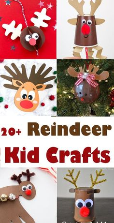 This Christmas celebrate Rudolph with this handprint reindeer craft the kids will love! It's a fun reindeer craft idea that comes wiht a free template. Christmas Arts And Crafts, Preschool Christmas, Noel Christmas, Christmas Crafts For Kids, Christmas Activities, Holiday Crafts, Christmas Decorations, Christmas Crafts For Kindergarteners, Craft Activities For Kids