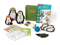 Penguin Bowling - Holiday Crates | Kids Crafts & Activities for Children | Kiwi Crate