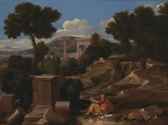 St. John on Patmos, 1640.  Art Institute of Chicago.