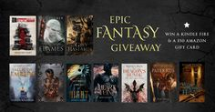 Epic Fantasy Book Giveaway http://timandrawhitecastle.com/giveaways/epic-fantasy-giveaway/?lucky=452