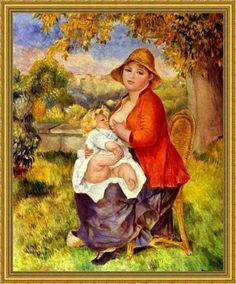 renoir - maternità