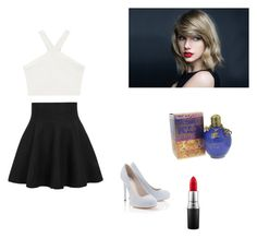 """""""Taylor swift inspired"""" by kacey1960 ❤ liked on Polyvore featuring BCBGMAXAZRIA, Lipsy and MAC Cosmetics"""