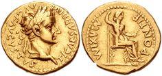 tiberius | Tiberius and Livia Seated