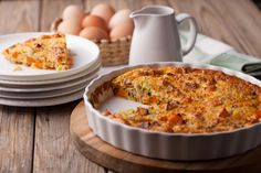 Cheesy Bacon and Sweet Potato Frittata, Chives: This Frittata is low in preperation and high in flavour.