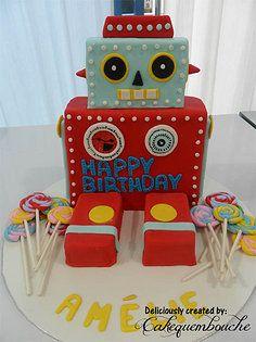 4) Robot Cake
