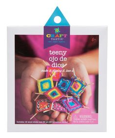Love this Craft-tastic Teeny Ojo De Dios Kit on #zulily! #zulilyfinds