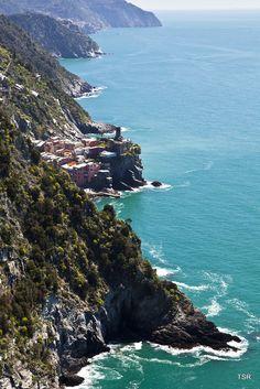 Cinque Terre-toward Vernazza by Tom Roche Liguria