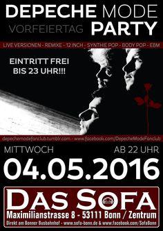 Depeche Mode Party - EINTRITT FREI BIS 23 UHR !!!