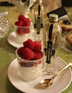 Pure Kitchen's Boozy Berry Mousse