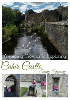 Escape the crowds and explore Cahir Castle - one of the largest castles in Ireland! County Cork Ireland, Galway Ireland, Ireland Vacation, Ireland Travel, Waterford Ireland, Castles To Visit, Castles In Ireland, Ireland Landscape, Quotes About Photography