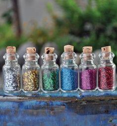 Fairy Dust For Fairy Garden - 6 Assorted