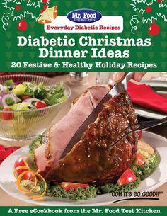 Diabetic Christmas Dinner Ideas Free eCookbook